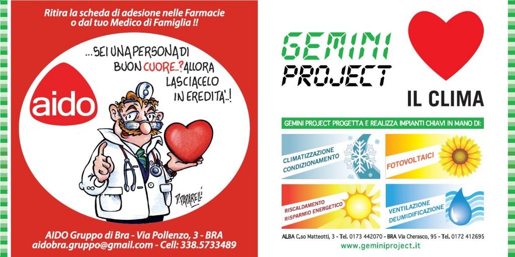 Gemini project sostiene la campagna AIDO