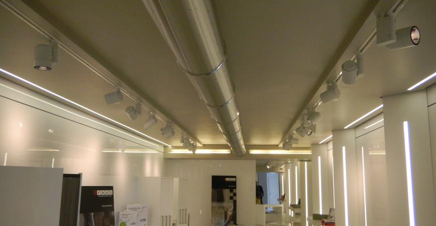 Gemini project srl climatizzazione ad aria con diffusori a vista