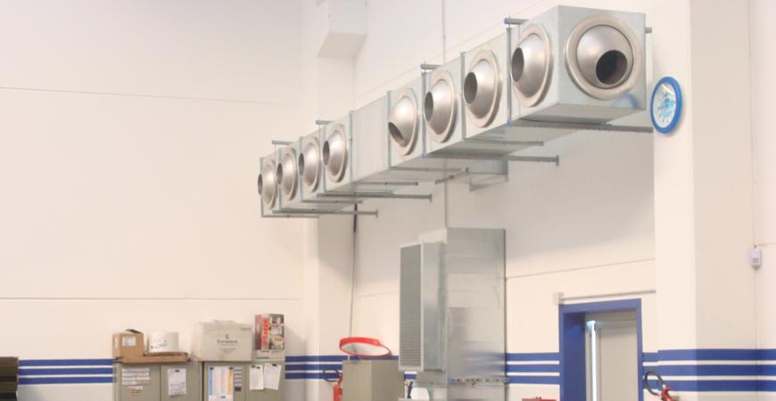 Riscaldamento Con Aria Calda.Gemini Project Srl Generatore Di Aria Calda A Condensazione Con