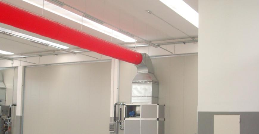 Gemini project srl generatore di aria calda a - Riscaldamento aria canalizzata ...
