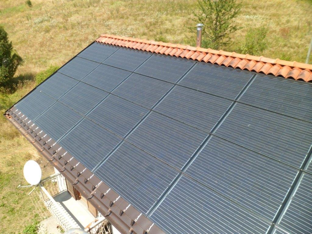Impianto civile fotovoltaico