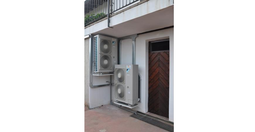 gemini project srl pompa di calore con riscaldamento a