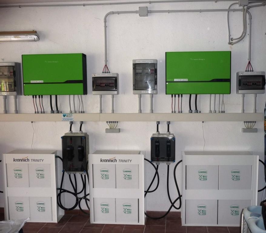 Impianti fotovoltaico civile con accumulo